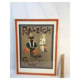 Print, Raleigh Cycles, 1912 Reproduction
