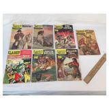 Lot of 7 Comic Books, Vintage