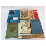 Lot of 6 Boy Scout Books, Vintage or Antique
