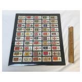 Cigarette Card Collection, Regimental Banners, Vin