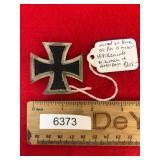 WW2 or WWII Era German Nazi Pin, Iron Cross