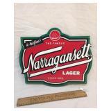 Narragansett Lager or Beer Metal Sign