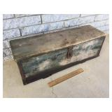Tool Box, Wood or Wooden, Antique