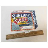 Porcelain Sign, Sunlight Soap, Modern