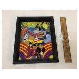 The Beatles Yellow Submarine, 3D Art