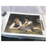 Giclee or Print on Canvas by W. Bouguereau 1882