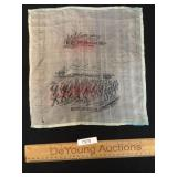 US Military Handkerchief or Linen, Antique