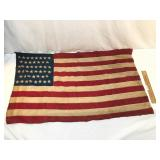 46 Star US Flag, Scarce Collectible