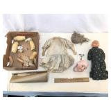 Doll Lot, Max Handwerck and Composition, Antique