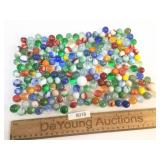 Lot of 200 Marbles, Vintage or Antique