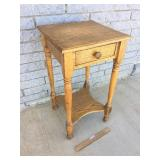 Side Table, Oak, Antique