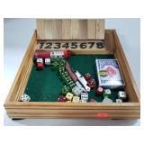 Game night lot w/ vintage dice & bottle opener