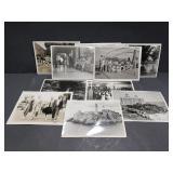 10 vintage black & white photographs