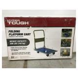 New Hyper Tough heavy duty folding platform cart
