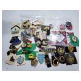 Assorted pin & brooch collection
