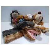 4 animal puppets w/ Alf