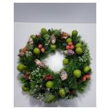 Fruit & bird woodland wreath