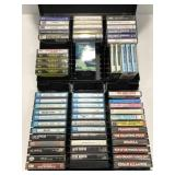 Cassette tape collection w/ Led Zeppelin