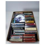 Box lot of cds