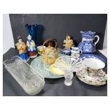 Large assortment of glass items