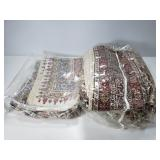 Pair of fabric tablecloths