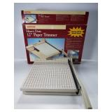 "Heavy duty 12"" paper trimmer"
