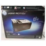 Laserjet pro P1102w printer in box