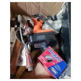 Box lot of tools