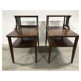 Mersman tiered end table pair
