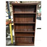 Six foot bookcase shelf