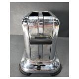 Vintage Art Deco style metal toaster