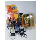 The A-team action figures w/ accessories