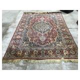 Wool pile area rug - 8.5 ft. x 5.5 ft.