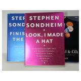 Trio on Stephen Sondheim books