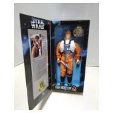 Star Wars toy figure, Luke Skywalker pilot, 1996