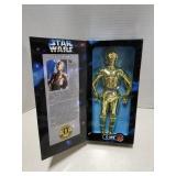 Star Wars toy figure, C-3PO, 1997