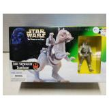 Star Wars toy figure set, Luke & Tauntaun, 1997