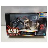Star Wars toy figure set, Tatooine Showdown, 1999