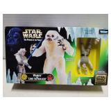 Star Wars toy figure set, Wampa & Luke, 1997