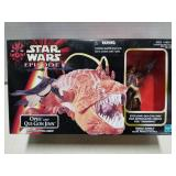 Star Wars toy figure set, Opee & Qui-Gon Jinn,