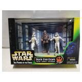 Star Wars toy figure set, Death Star Escape, 1997