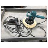 Orbital polisher and heat gun