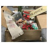 Merry Christmas box lot