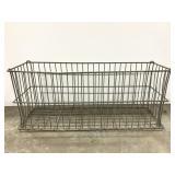 Metal narrow basket