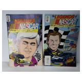 Vintage Nascar racing comics
