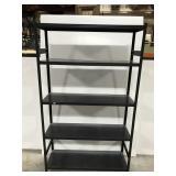 Steel storage shelf rack