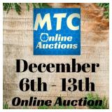 MTC December 6th - 13th Online Auction