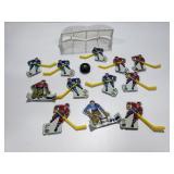 Vintage metal Hockey player game pieces