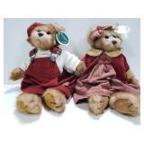 Vintage Bearington stuffed bears