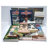Vintage New York Yankees baseball book collection